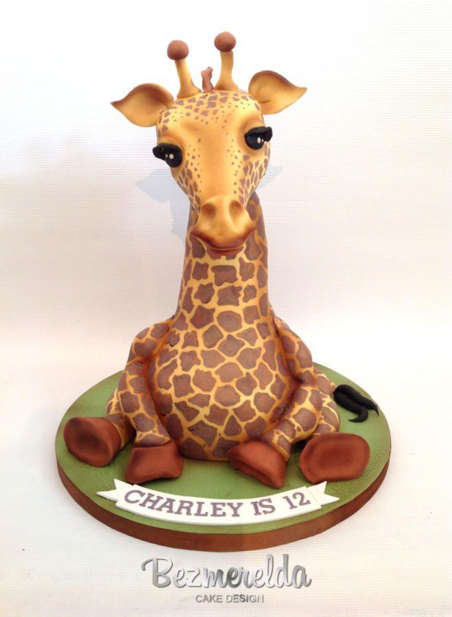Giraffe Baby Shower Cake Pictures