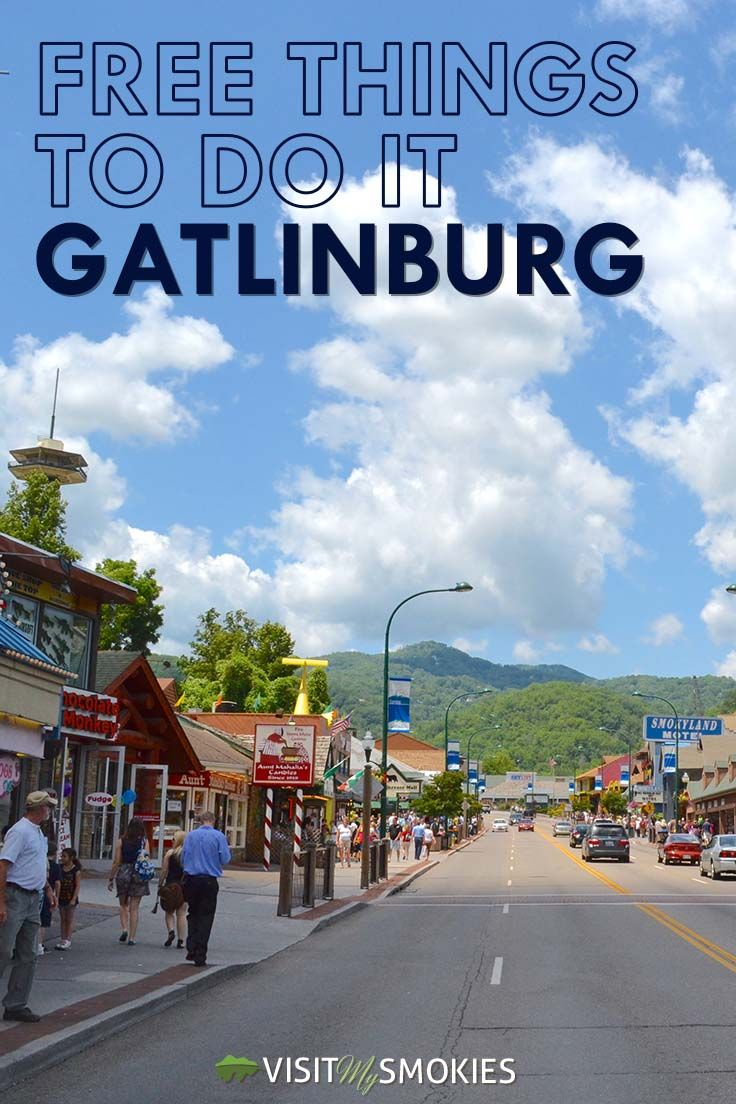 10 Free Things To Do in Gatlinburg You Don't Want to Skip http://www.visitmysmokies.com/blog/gatlinburg/10-free-things-gatlinburg-dont-want-skip/