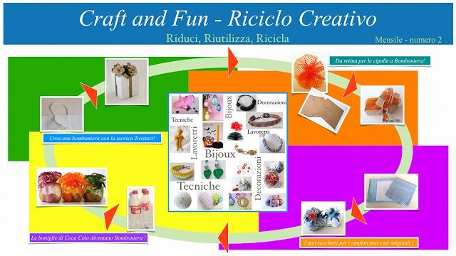 Riciclo Creativo - Craft and Fun: Bomboniere con il Riciclo Creativo: eBook PDF