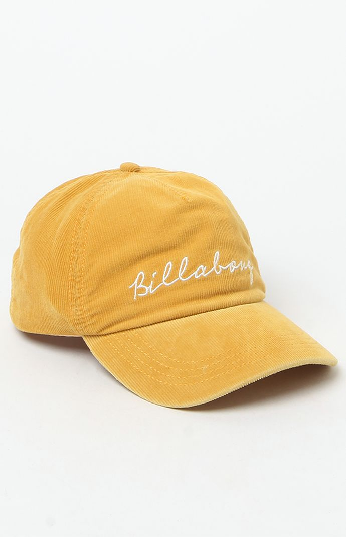 Billabong Gnarly Set Corduroy Baseball Cap