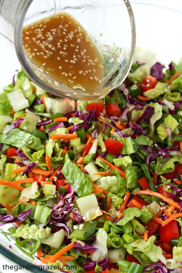 Main dish healthy salad recipes