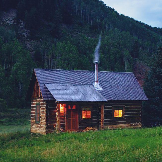 17 migliori immagini su casa nel bosco su pinterest case for Cabin in the woods oregon