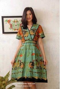 batik amarillis's primavera dress