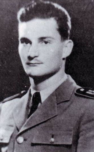 Laszlo Daniel, WWII Hungarian ace with 7 confirmed victories and 1 shared + 1 non confirmed.