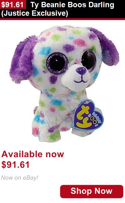 Binocular Cases And Accessories: Ty Beanie Boos Darling (Justice Exclusive) BUY IT NOW ONLY: $91.61