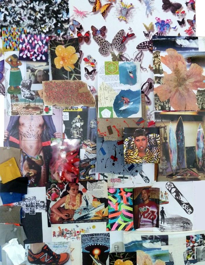 lacroix collage prints