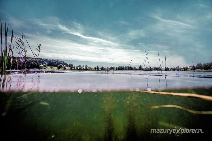 mazury pod wodą