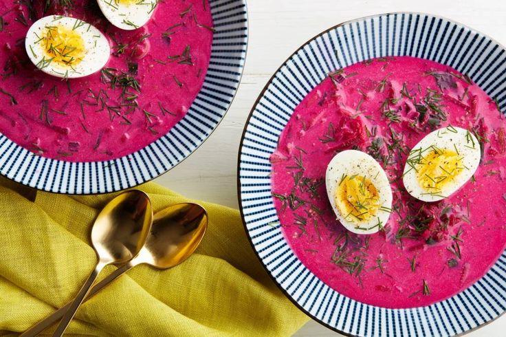 Rezept: Kalte Rote Bete-Suppe – erfrischend im Sommer