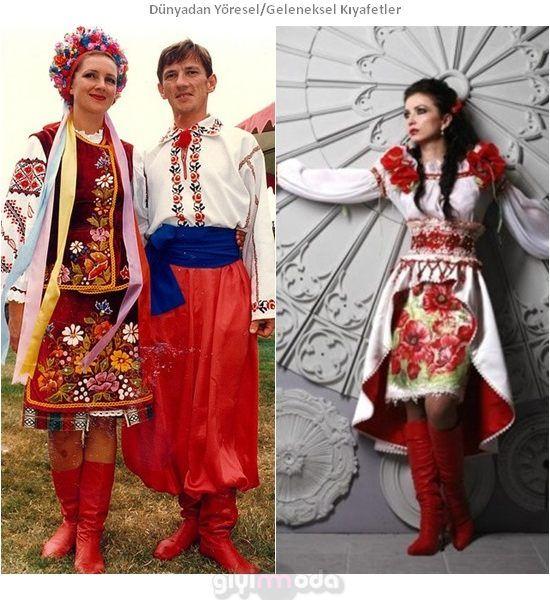 Ukrayna Geleneksel Kıyafetleri