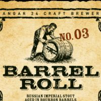 Hangar 24 Pugachev's Cobra label...barrel aged beers...happens in december