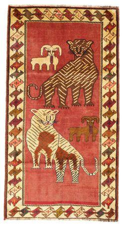 Ghashghai figural/pictorial-matto 104x192