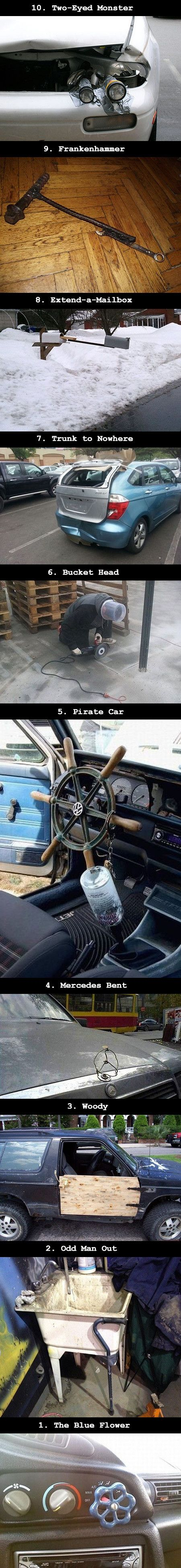 10 Weird and Bizarre Examples of How Not to Fix Things