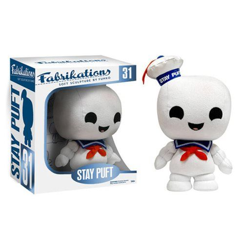 Ghostbusters Stay Puft Fabrikations Plush Figure - Funko - Ghostbusters - Plush at Entertainment Earth