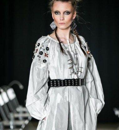 Fashion make-up for Adrian Oianu
