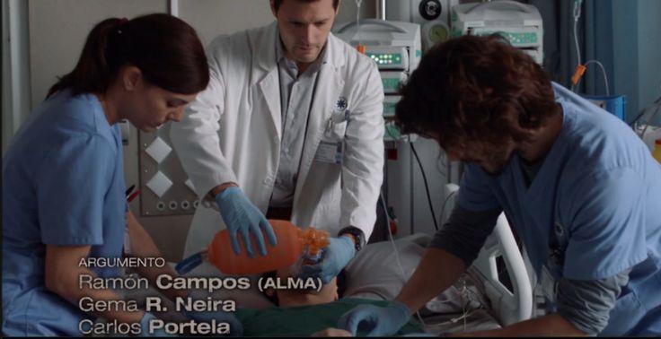 Bajo Sospecha (2nd season)-episode 10- HERSILL Revivator manual resuscitator.