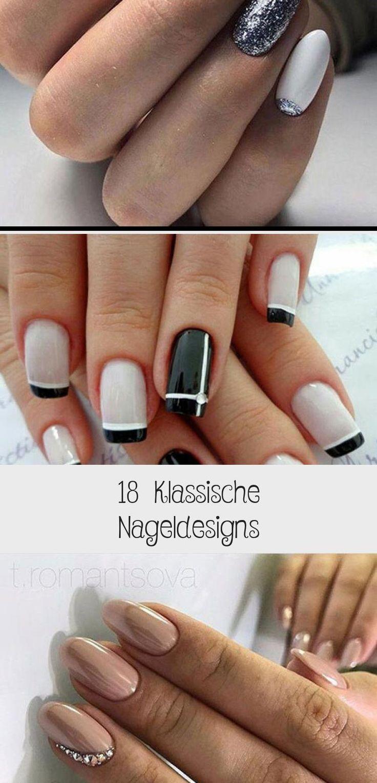 18 classic nail designs