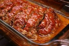 Mom's Incredible Meatloaf - My mom made the absolute best meatloaf in the world. I would love to come from football practice at Wilson Jr. High with the smell of a homemade meatloaf baking in the oven. We served the exact same recipe at Bailey's Restaurant for 6 years, and it was an overwhelming hit. To this day, I have people stop me when shopping at Publix on Neptune to tell me how much they miss our meatloaf. This recipe will easily feed 10.