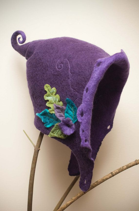 woman's hood  fairy hat made to order by lalabugdesigns on Etsy, $125.00