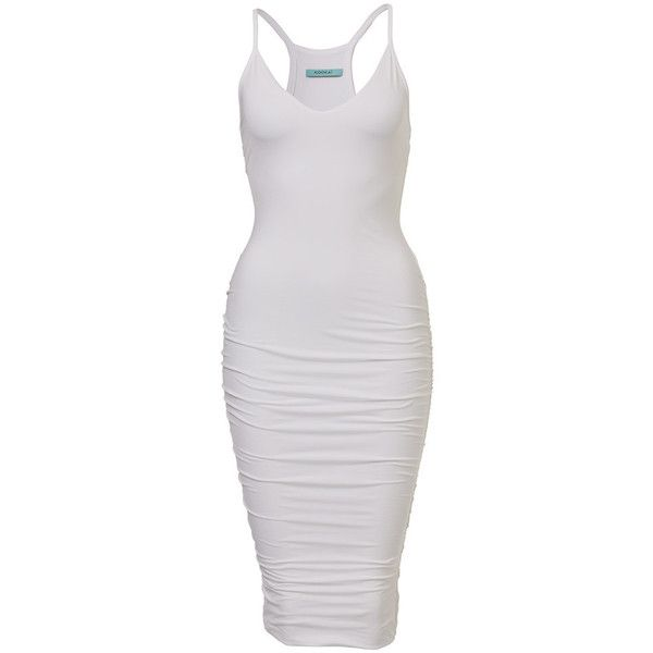 Tara Vee Dress ❤ liked on Polyvore featuring dresses, figure hugging dress, form fitting dresses and form fitted dresses