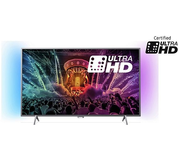Buy Philips 43PUS6401 43 Inch 4K Ultra HD Ambilight Smart TV at Argos.co.uk - Your Online Shop for Televisions, Televisions and accessories, Technology.