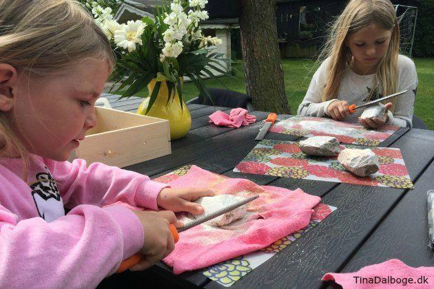 kreativ ide børn kan lave inde og ude fedtsten fra kreahboshop