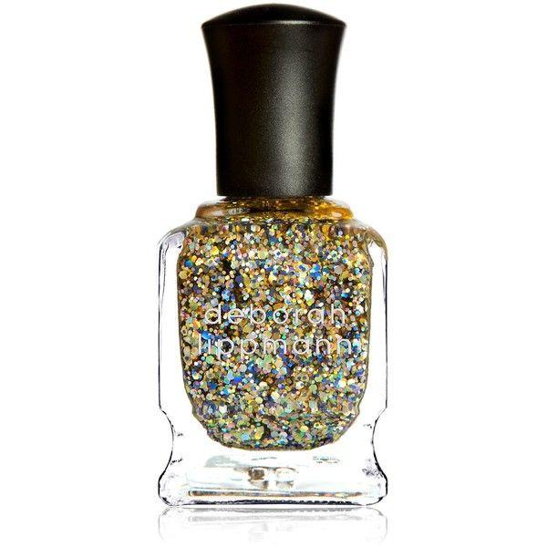 Deborah Lippmann Glitter Nail Colour (£16) ❤ liked on Polyvore featuring beauty products, nail care, nail polish, deborah lippmann nail color, deborah lippmann nail polish, deborah lippmann nail lacquer and deborah lippmann