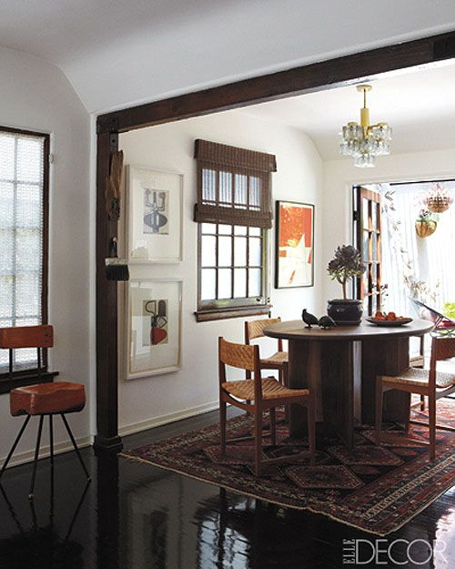 Steven Johanknecht's home featured in the March 2012 issue of Elle Decor.