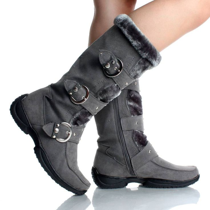 322 best Ravna duboka obuca (Flat boots) images on Pinterest