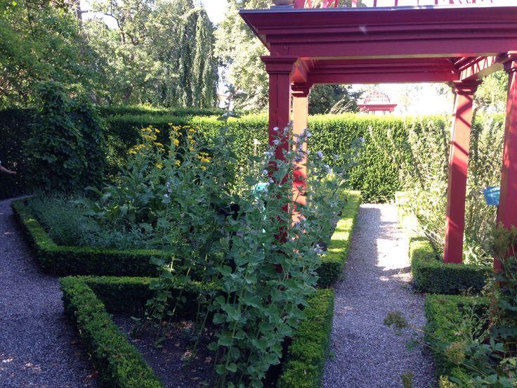 Historical Botanic Garden, Vordingborg est. 1921, arch. G N Brandt.  http://www.sns.dk/fortidsm/netpub/vordingborg/5afsnit.htm