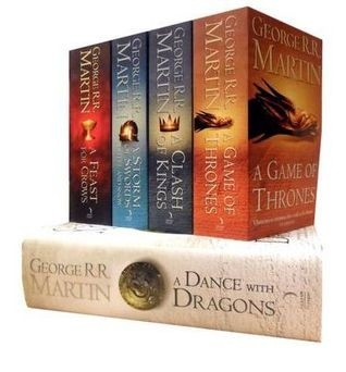 George R.R. Martin, A Song of Ice and Fire, 5 Book Set Series, A Game of Thrones, A Clash of Kings, A Storm of Swords, A Feast for Crows, A Dance with Dragons the-librarian-s-list-all-time-favorite-books