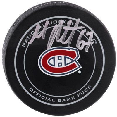 Autographed Montreal Canadiens Max Pacioretty Fanatics Authentic Official Game Puck