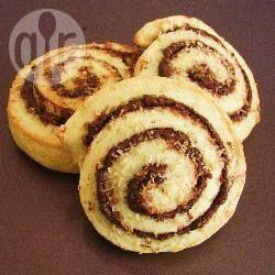 Chocolade-kokos swirl koekjes @ allrecipes.nl