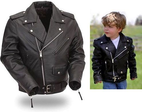 New Ayp Now Carries Kids Biker Jackets Leather Up The