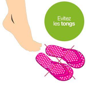 Le soleil revient et ce sont les vacances ! Deux bonnes raisons pour porter des chaussures légères. Parfaites pour la plage et la piscine, les tongs sont toutefois à éviter... http://ekinat.com/ind…/votre-sante/55-risques-sandales-tongs