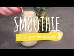 """Smoothie """"combustion des graisses"""" thé vert et ananas"""