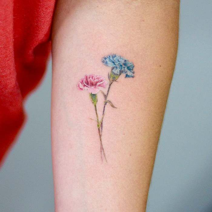 The Birth Flower Tattoos Ideas