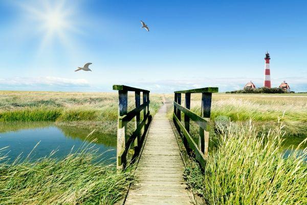 Ferienhaus & Ferienwohnung in Husum an der Nordseeküste mieten - Ferien an der Nordsee (mobile)