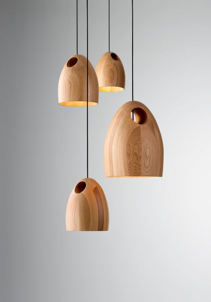 Large Oak Pendant by Ross Gardam Available