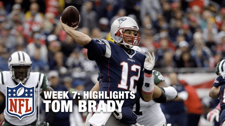 Tom Brady Highlights (Week 7) | Jets vs. Patriots | NFL 30-23  WIN!!
