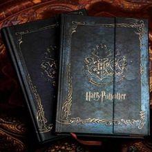 Nieuwe Harry Potter Gift Dagboek Boek Vintage Notebook/Hard Cover Note/Kladblok/Agenda Planner 2016- 2017-2018 Kalender jk1018(China (Mainland))