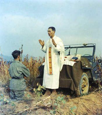Fr. Kapaun, Korean War Army Chaplain, Receives Medal of Honor