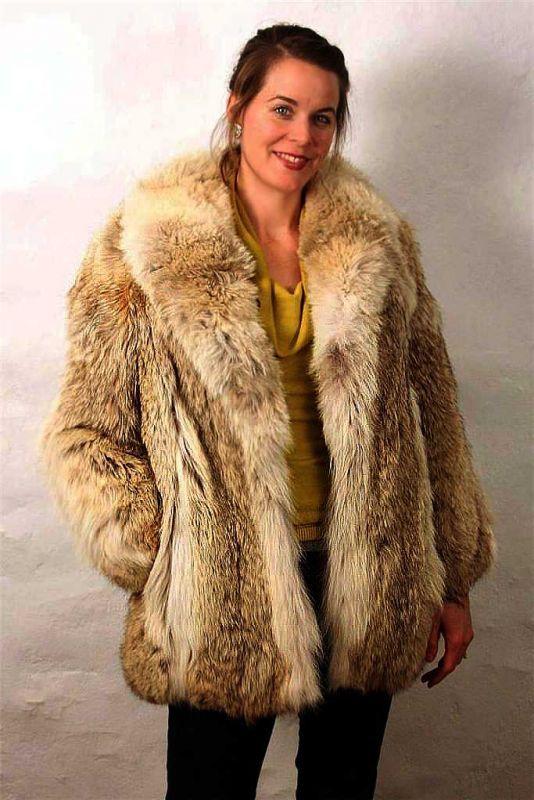 classic coyote fur jacket | furs two | Pinterest | Fur jacket, Fur ...
