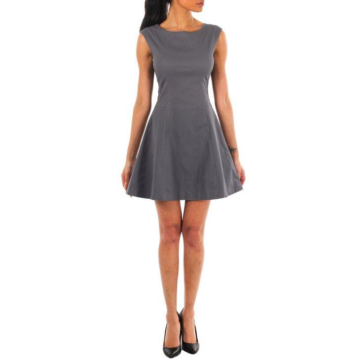 Zara Skater Dress Grey fra Kouture