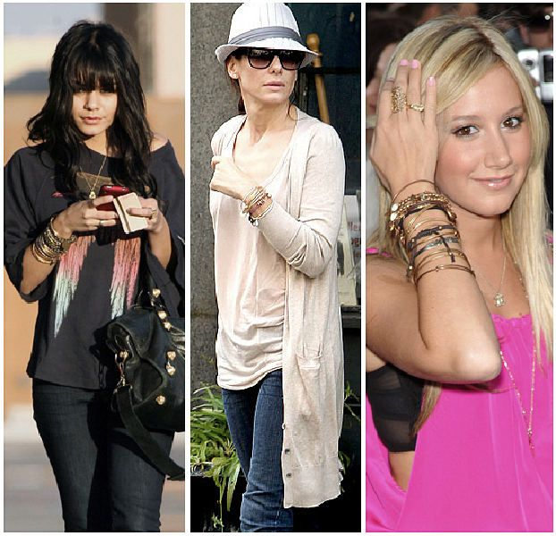 stars wearing Alex and Ani