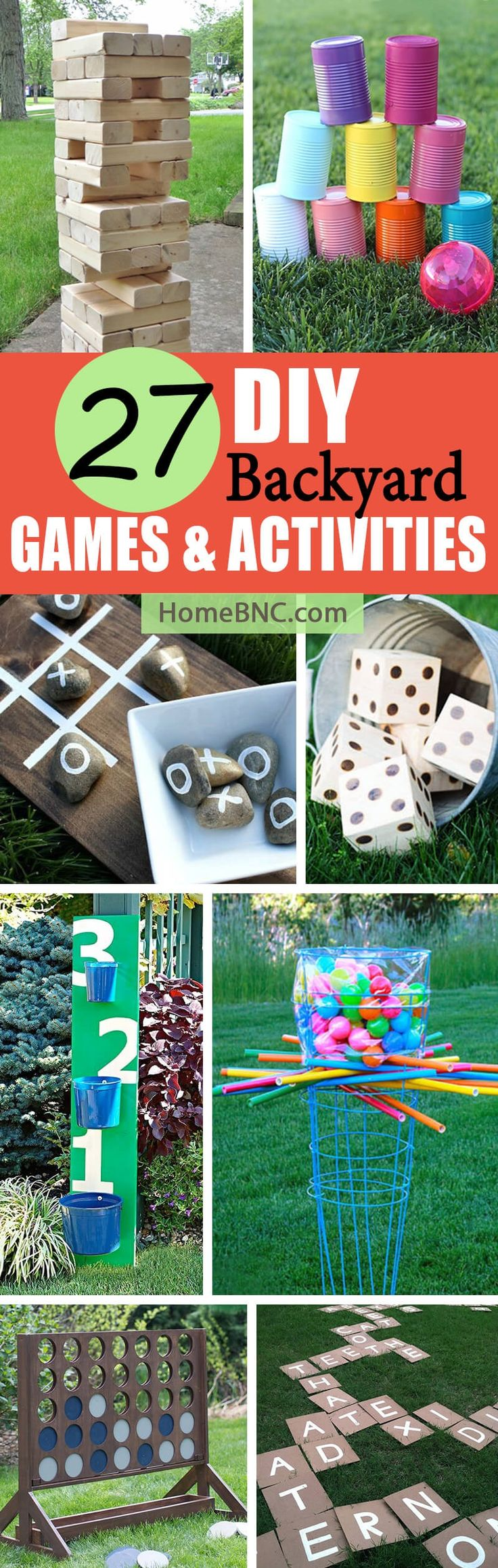 Summer is the perfect time to spend time in the great outdoors, and if you're looking for ways to entertain your friends and family, these 27 DIY backyard game ideas are a great place to start. 27 Fun DIY Backyard Game Ideas Your Kids Will Love   Outdoor DIY games can be as simple or co...