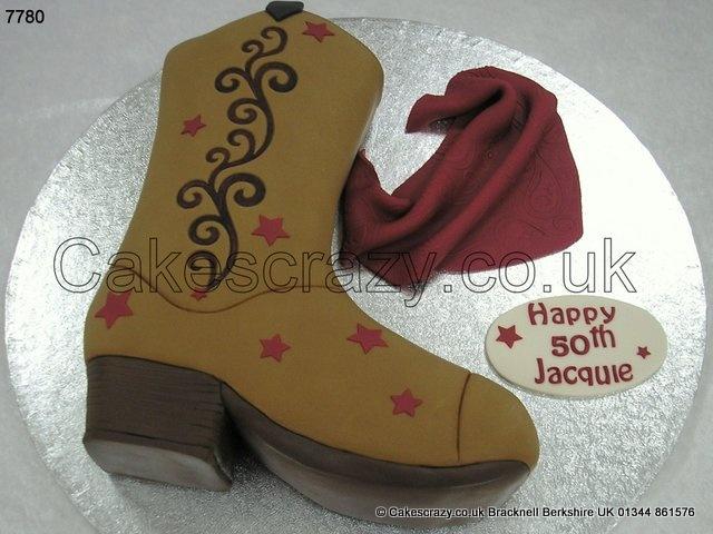 Cowboy Boot Cake Pan Wilton