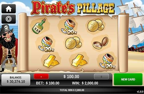 Feel like a real pirate with the online game Pirates Pillage