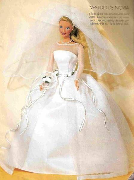 Like for - выкройки свадебных платьев для барби - likeforyou