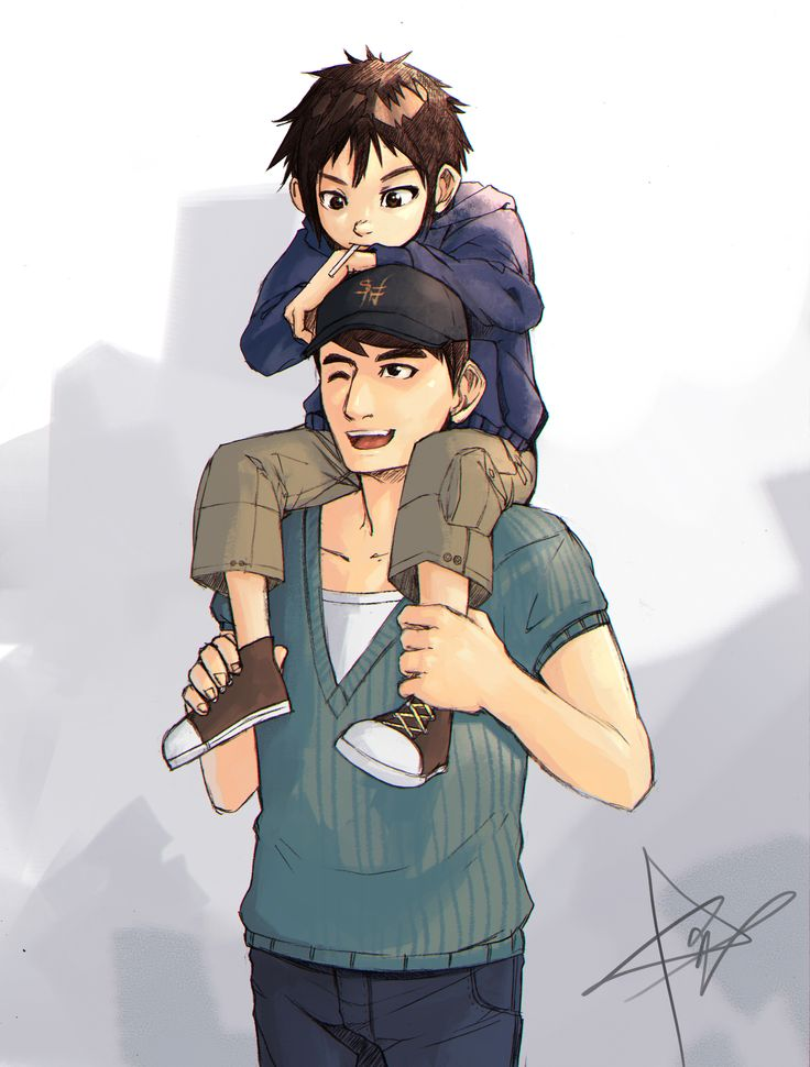 """Please let this last for ever ......   dont """"go"""" Tadashi..."""
