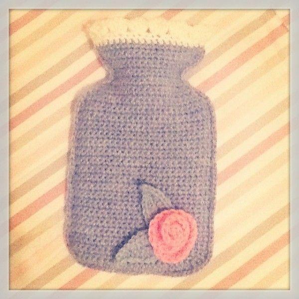 Mejores 112 imágenes de Crochet - Cobertores para Bolsa de Agua ...